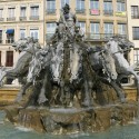 La Fontaine Bartholdi à Lyon