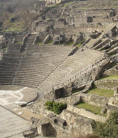 Amphitheatre des trois gaulle de Lyon