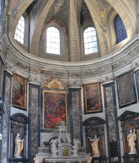 Chapelle trinité Lyon