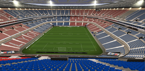 intérieur stade
