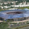 L'impressionnant nouveau stade à Lyon