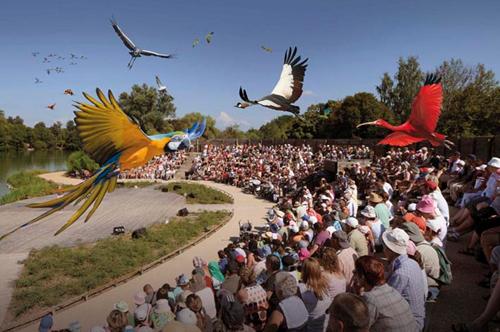 le Parc des oiseaux de Villars-les-Dombes